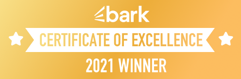 Bark.com Certificate of Excellence
